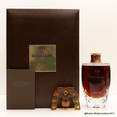 Macallan Lalique 55 Year Old 2nd Release