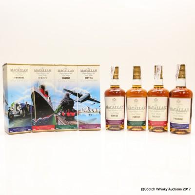 Macallan Decades Collection - Twenties, Thirties, Forties & Fifties 4 x 50cl