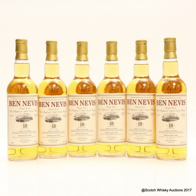 Ben Nevis 1995 18 Year Old Private Bottling 6 x 70cl