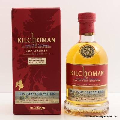 Kilchoman 100% Islay Single Cask Vatting Distillery Shop