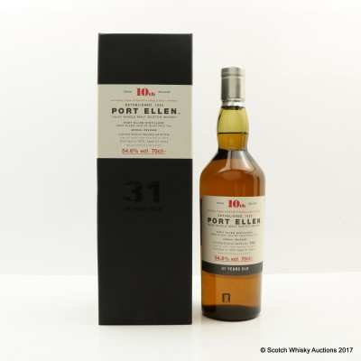 Port Ellen 10th Annual Release 1978 31 Year Old