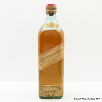 Johnnie Walker Old Highland Whisky White Label