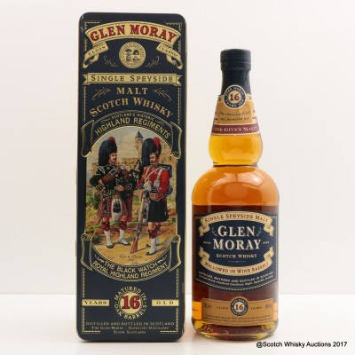 Glen Moray 16 Year Old Highland Regiments Black Watch