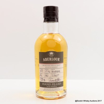 Aberlour 13 Year Old Hand Filled Bourbon Cask