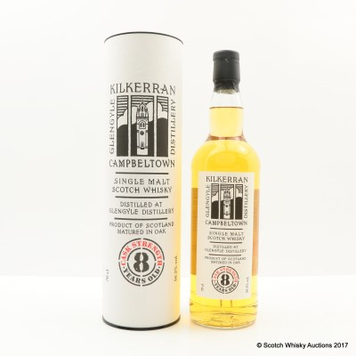 Kilkerran 8 Year Old Cask Strength