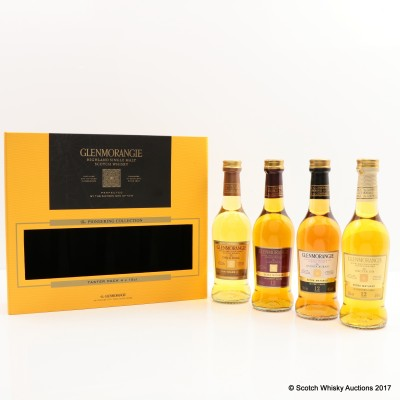 Glenmorangie Pioneering Collection 4 x 10cl