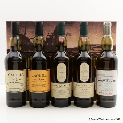 Islay Collection 5 x 20cl