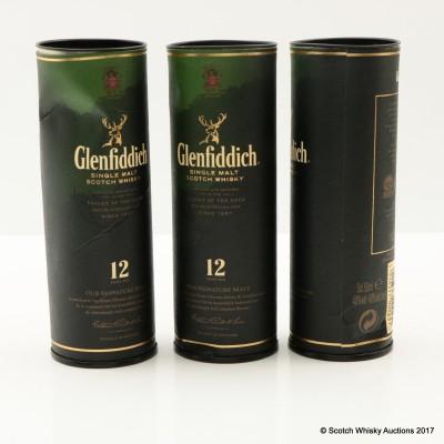 Glenfiddich Minis 4 x 5cl