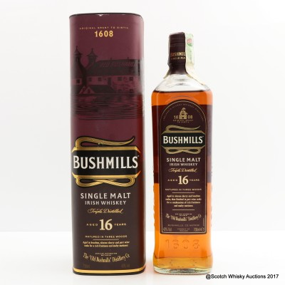 Bushmill's 16 Year Old