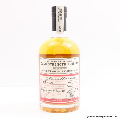 Glenallachie 2000 14 Year Old Chivas Brothers Cask Strength Edition 50cl