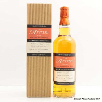 Arran 1998 Sherry Cask Limited Edition