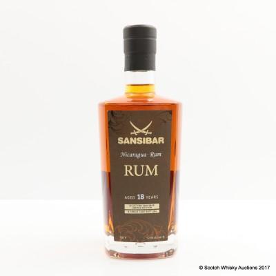 Nicaragua 1995 18 Year Old Sansibar Rum