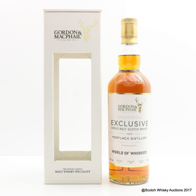 Mortlach 1990 Gordon & MacPhail Exclusive Bottling For World Of Whiskies