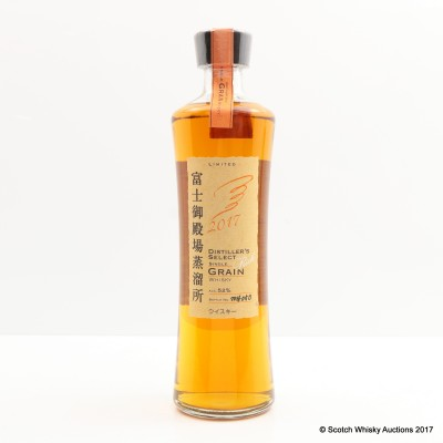 Kirin Fuji Gotemba Distiller's Select 2017 Rich Grain Limited Edition 50cl