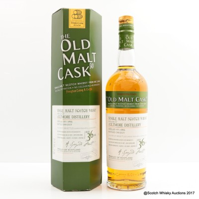 Aultmore 1974 36 Year Old Old Malt Cask