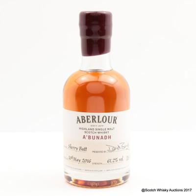 Aberlour A'Bunadh Sherry Butt 20cl