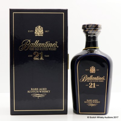 Ballantine's 21 Year Old Decanter 50cl