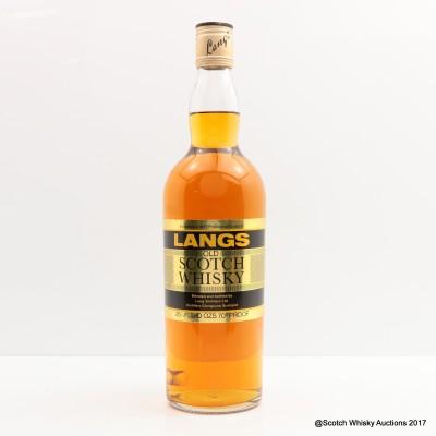 Langs Old Scotch 26 2/3 Fl Oz