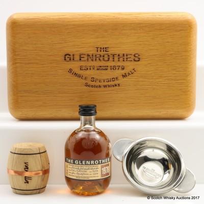 Glenrothes 1978 Mini 10cl & Quaich Set