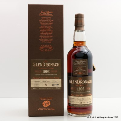 GlenDronach 1993 24 Year Old Single Cask #43