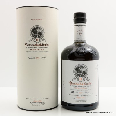 Bunnahabhain 11 Year Old Pedro Ximenez Distillery Exclusive
