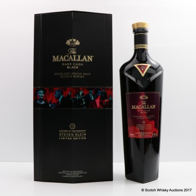 Macallan Rare Cask Black Masters of Photography Steven Klein Edition