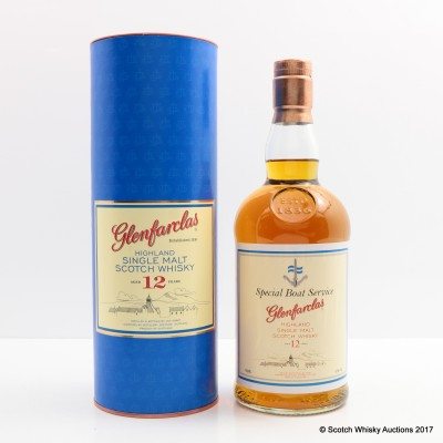 Glenfarclas 12 Year Old for Special Boat Service