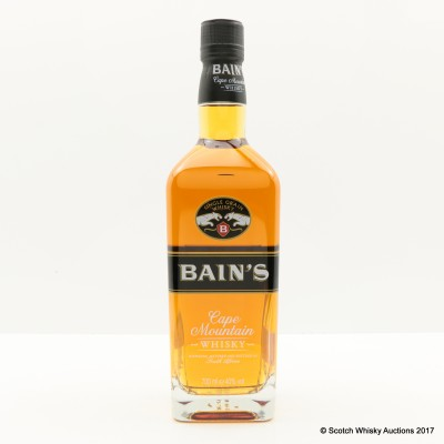 Bain's Cape Mountain South Afrtican Whisky