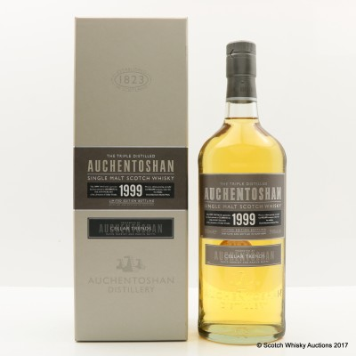 Auchentoshan 1999 For 10th Anniversary Of Cellar Trends