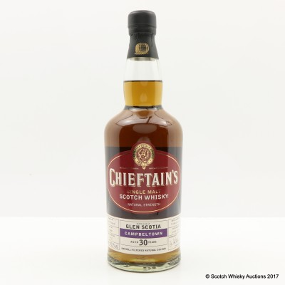 Glen Scotia 1974 30 Year Old Chieftain's