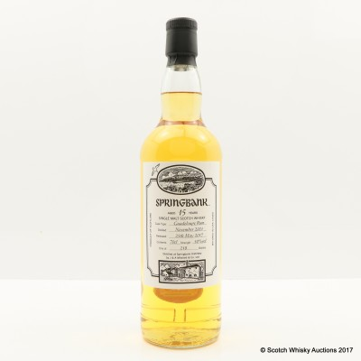 Springbank 2001 15 Year Old Rum Cask Open Day 2017