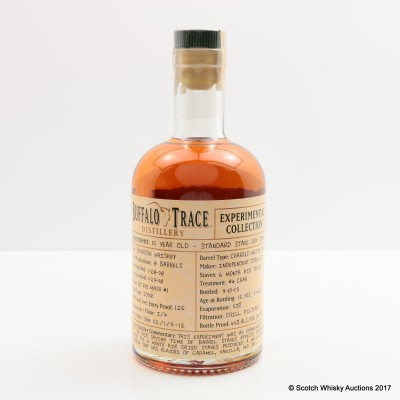 Buffalo Trace 15 Year Old Experimental Collection 37.5cl