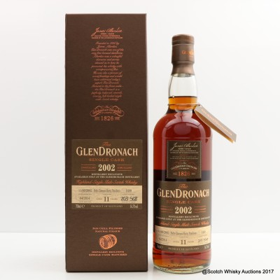 GlenDronach 2002 11 Year Old Single Cask #1499
