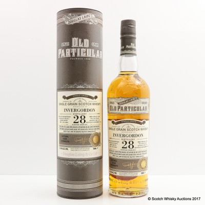 Invergordon 1987 28 Year Old Old Particular