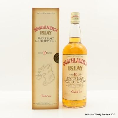 Bruichladdich 10 Year Old Tall Bottle 75cl