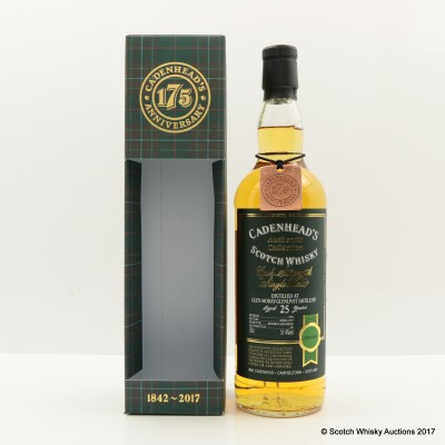 Glen Moray-Glenlivet 1991 25 Year Old Cadenhead's