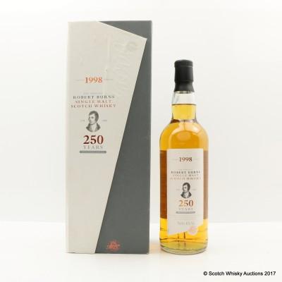 Arran 1998 Robert Burns 250th Anniversary Edition
