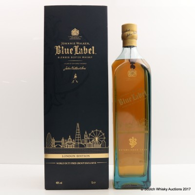 Johnnie Walker Blue Label London Edition 1L