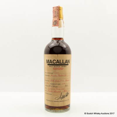 Macallan 1970 14 Year Old Samaroli 75cl