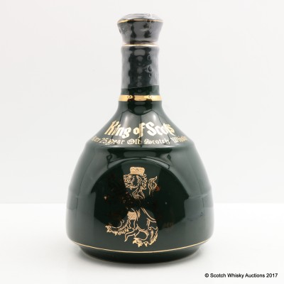 King Of Scots 25 Year Old Ceramic Decanter