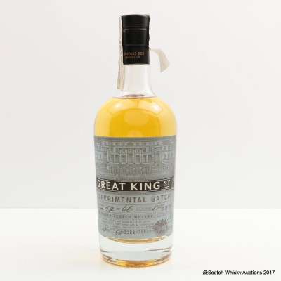 Compass Box Great King St Experimental Batch TR-06 50cl