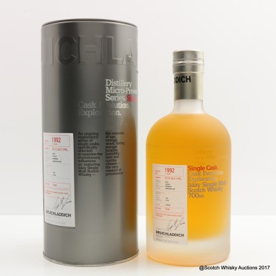 Bruichladdich Micro Provenance 1992 17 Year Old