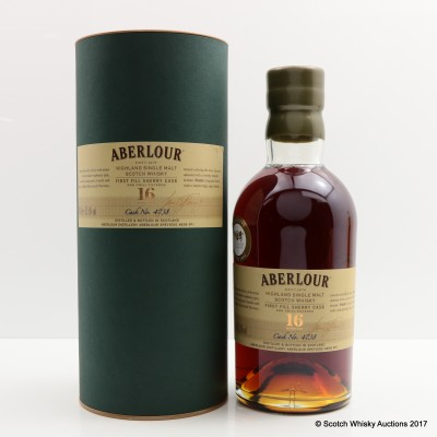 Aberlour 16 Year Old Single Cask #4738 Whisky Exchange Exclusive