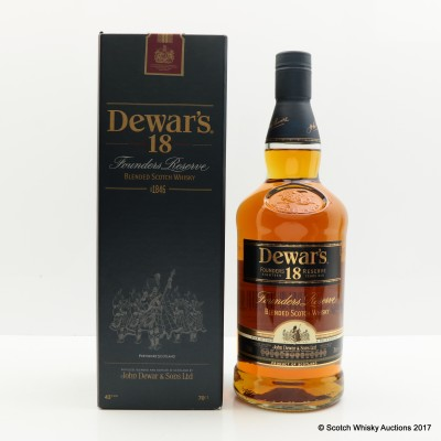 Dewar's 18 Year Old Founder's Reserve