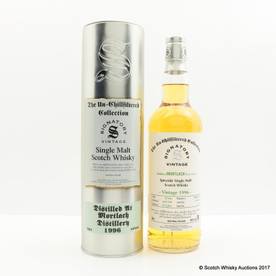 Mortlach 1996 20 Year Old Signatory