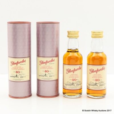 Glenfarclas 40 Year Old Mini 2 x 5cl