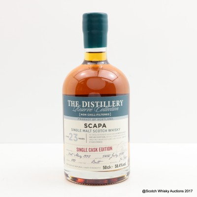Scapa 1992 23 Year Old Distillery Reserve Collection 50cl