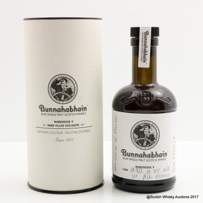 Bunnahabhain 14 Year Old Hand Filled 20cl