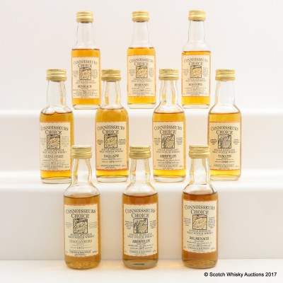 Assorted Connoisseurs Choice Minis 10 x 5cl Including Benrinnes 1969