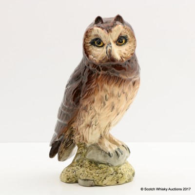 Whyte & Mackay Short-Eared Owl Ceramic Decanter 20cl